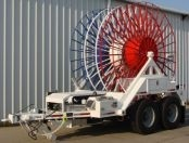 3-in-1 Underground stringing trailer, Self-driving